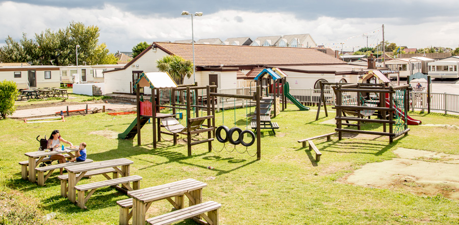 playground Holiday homes and holiday parks in Kent